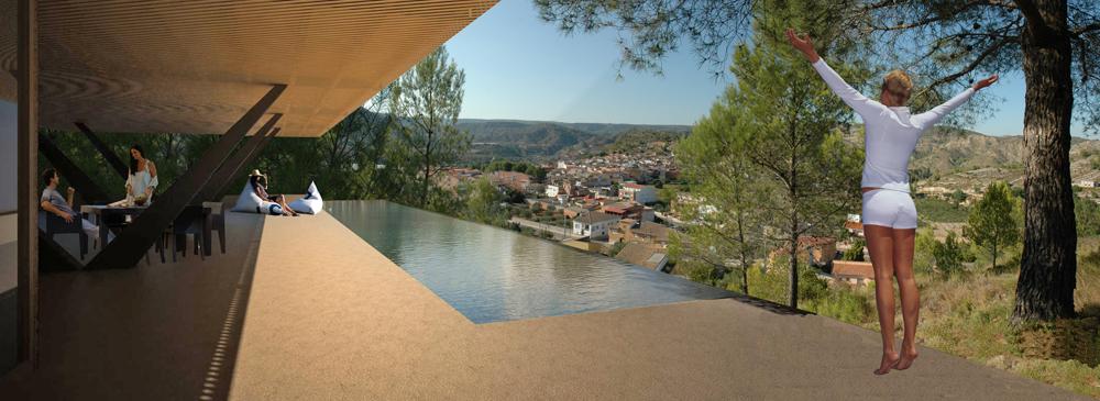 Hotel Rural en Quesa, Concurso 2011
